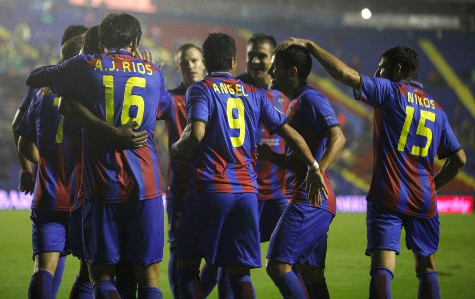 Levante - Granada. Puntuaciones Levante UD, jornada 9