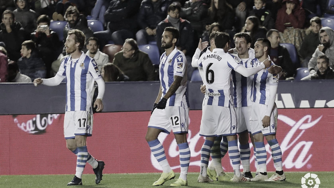 Previa Levante - Real Sociedad: en busca de volver a la senda de la victoria.