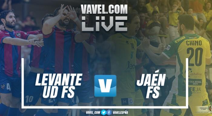 Levante UD FS vs Jaén FS en vivo y en directo online en LNFS 2017 (3-4)
