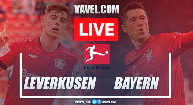 Goals and Highlights: Bayer Leverkusen 2-4 Bayern Munich in 2020 Bundesliga