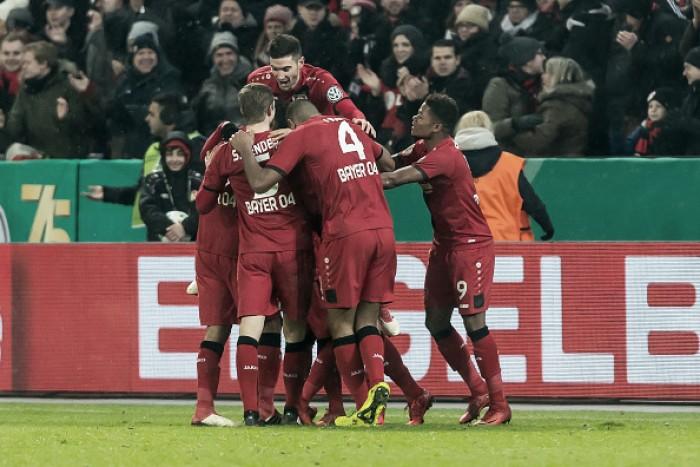 Bayer Leverkusen vence Werder Bremen de virada e quebra freguesia na Pokal