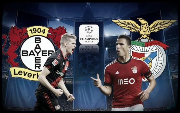 Benfica procura vitória frente a Leverkusen