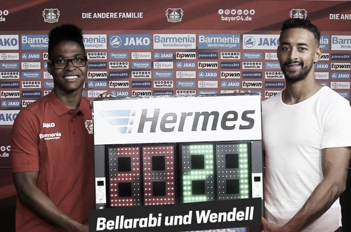 Bellarabi and Wendell extend with Bayer Leverkusen