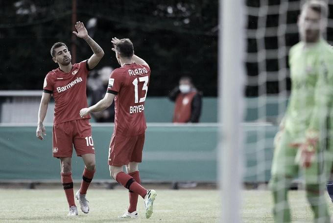 Bayer Leverkusen passa fácil pelo Saarbrücken e volta à final da Copa da Alemanha após 11 anos
