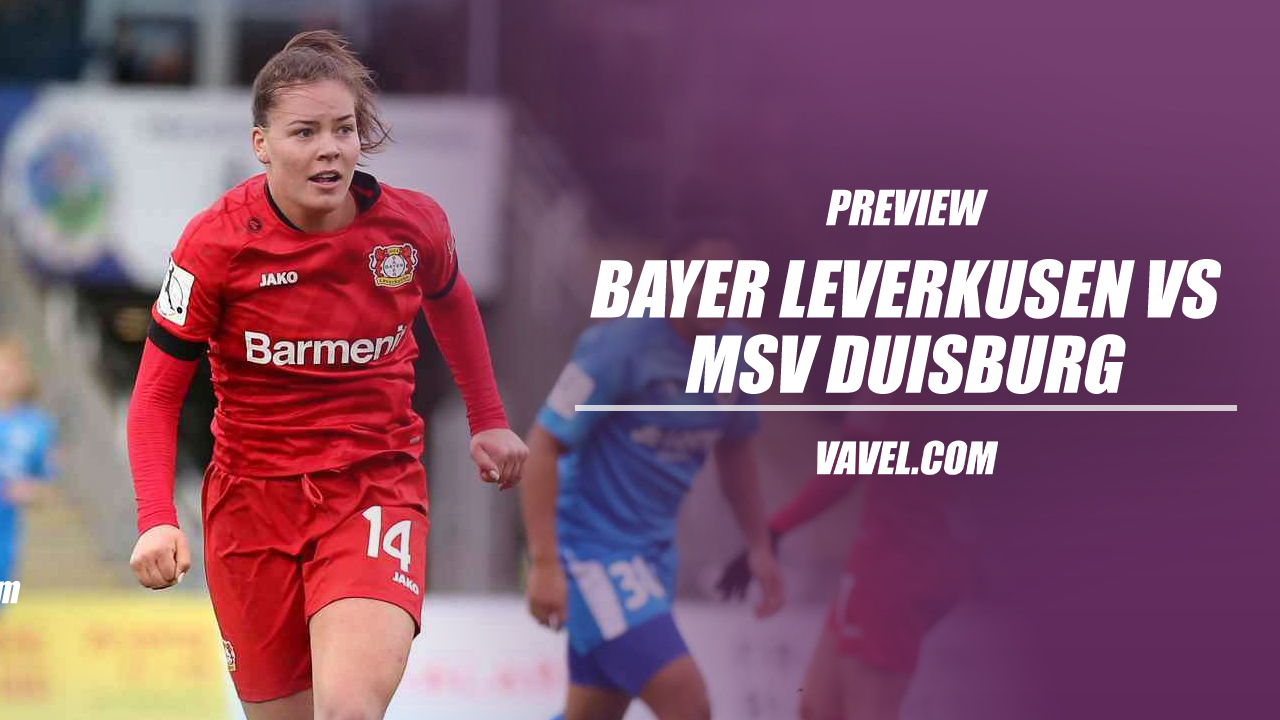 Bayer Leverkusen vs MSV Duisburg Frauen Bundesliga preview: Bottom-of-the-table battle