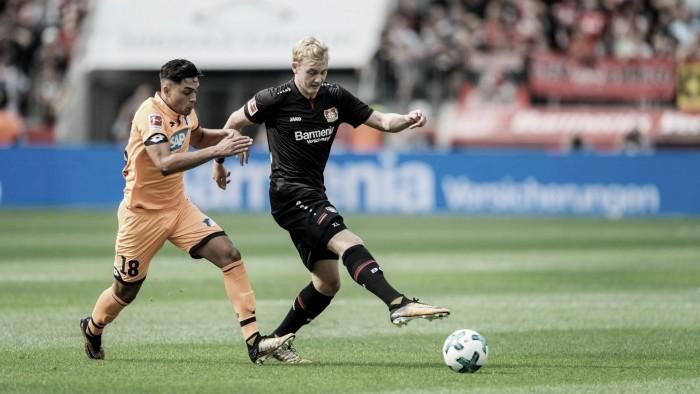 La propuesta ofensiva del Leverkusen no tuvo premio