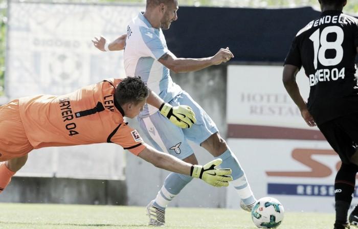 Lazio - Doppio Immobile e Anderson, Leverkusen al tappeto in amichevole (1-3)