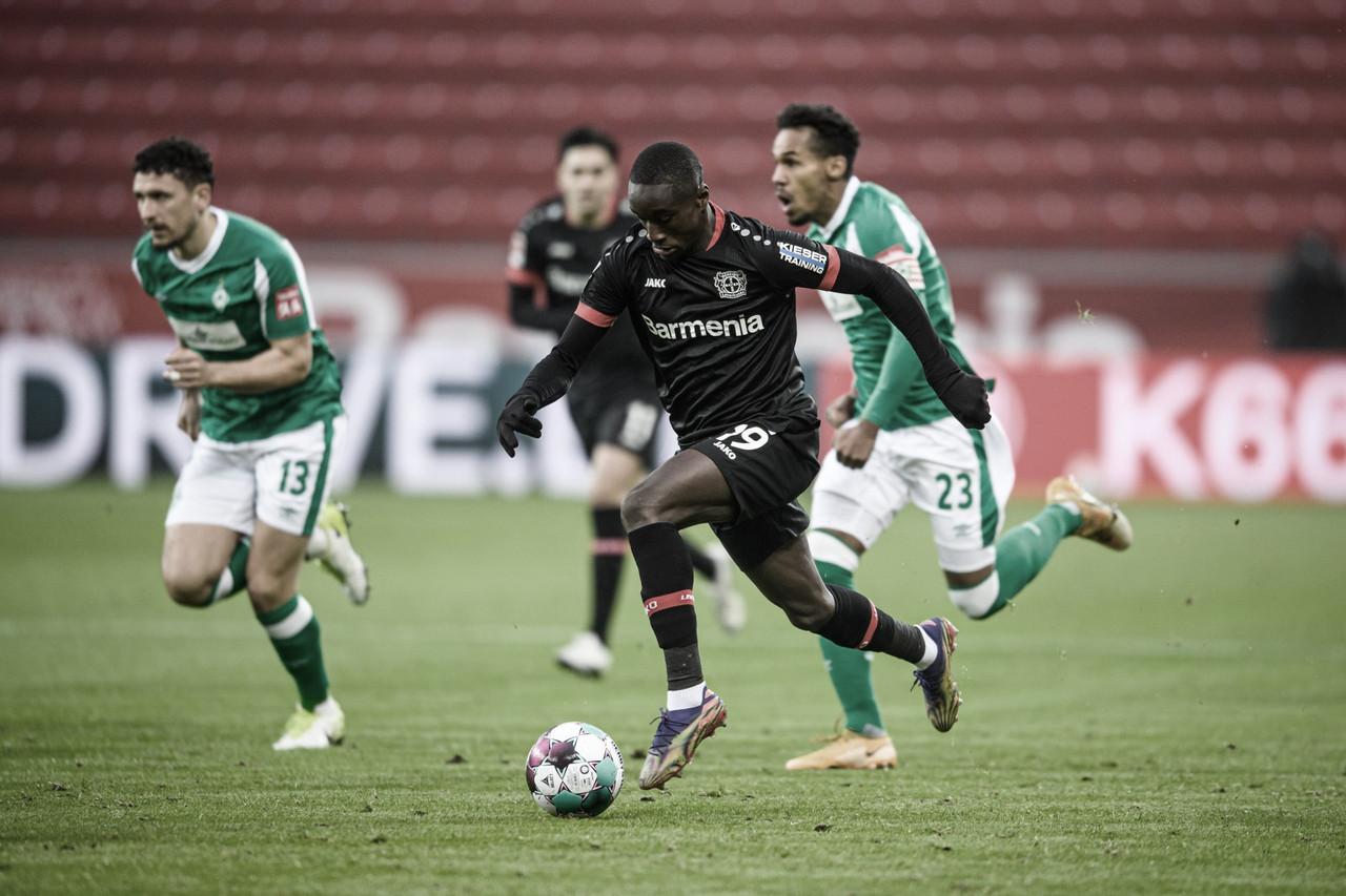 Apesar de amplo domínio, Leverkusen tropeça no Werder Bremen em briga pela liderança
