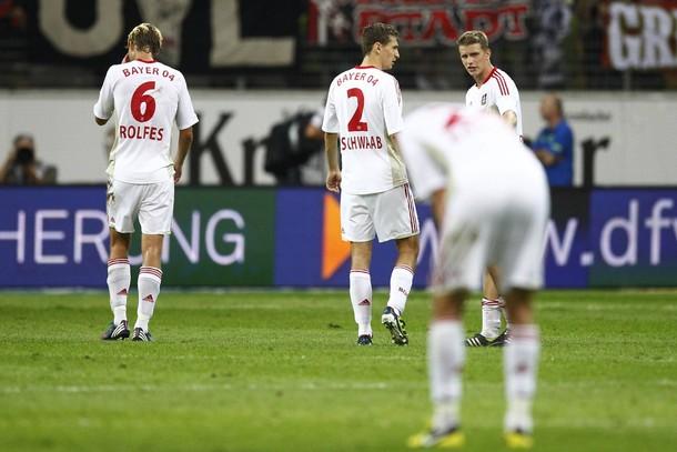 Derrota del Bayer Leverkusen ante el recién ascendido Eintracht Frankfurt
