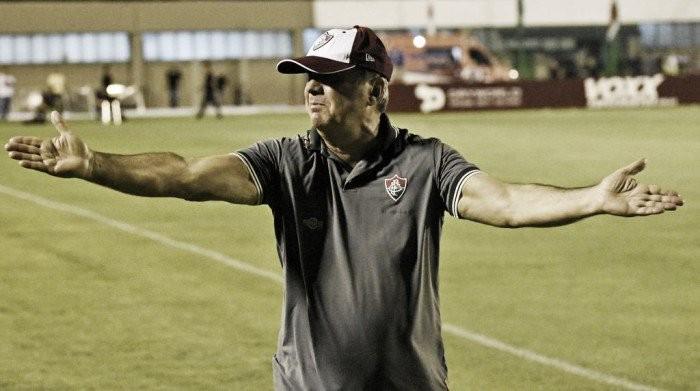 Levir Culpi critica arbitragem após empate com o Santa Cruz: ''Erro grosseiro''