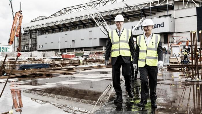 "Premier League/NFL double-header at Tottenham's new stadium ""realistic"" claims Daniel Levy"