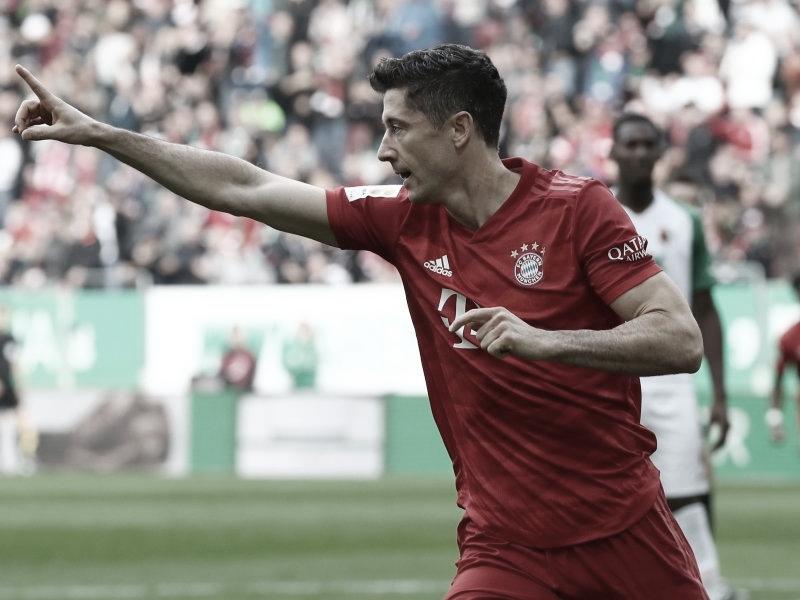 Bayern sai atrás, vira o jogo mas empata com Augsburg pela Bundesliga