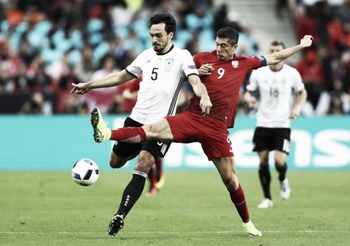 Lewandowski believes Poland deserved a goal against Germany