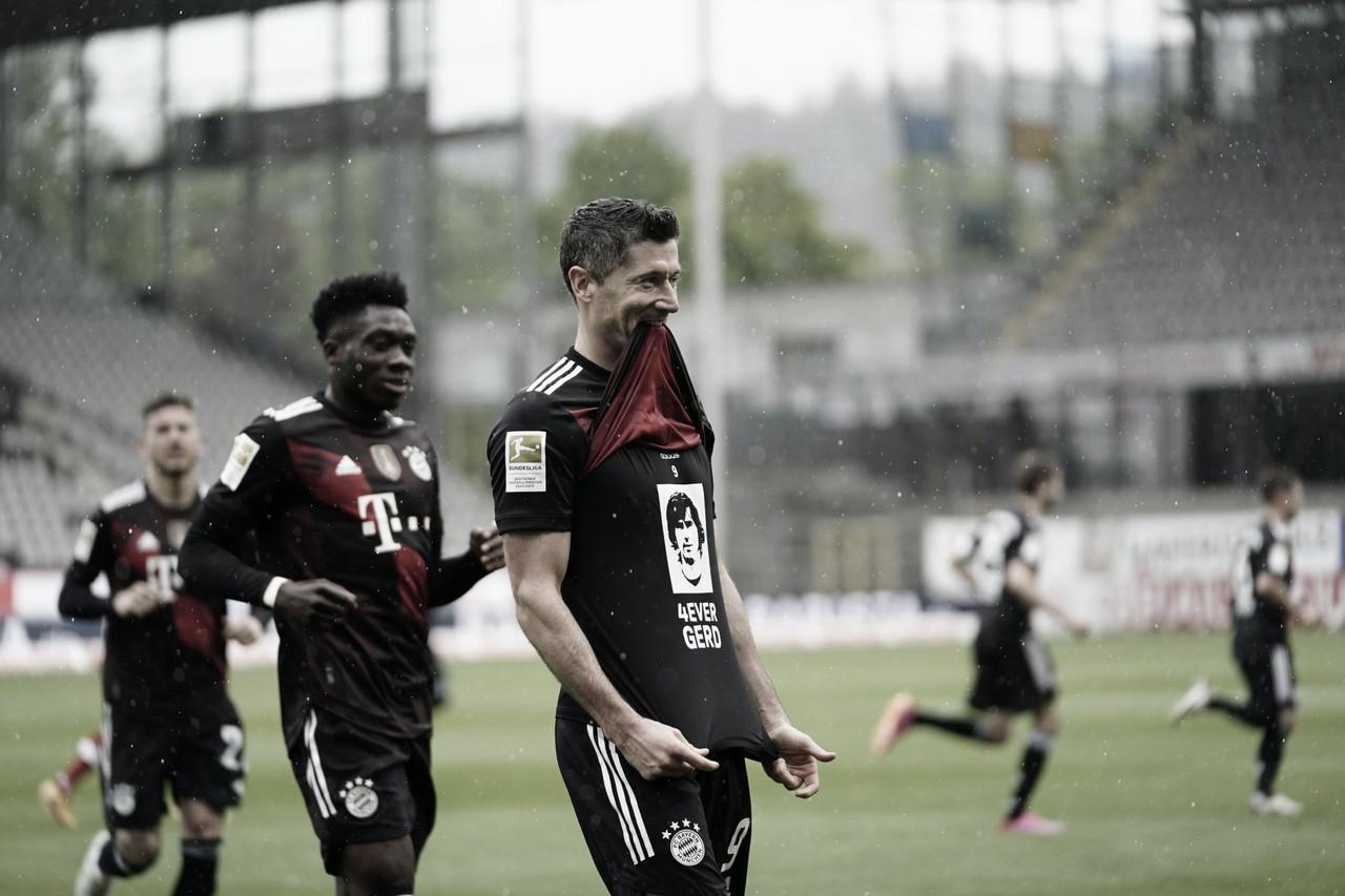 Com Lewandowski fazendo história, Bayern empata com Freiburg fora de casa