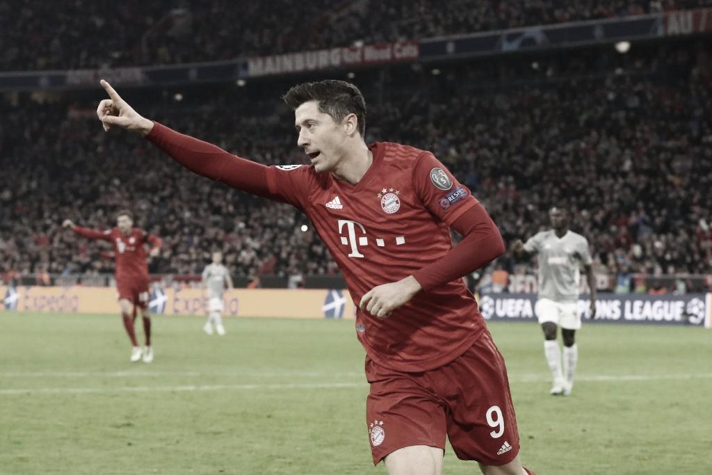 Lewandowski bate recorde pessoal de gols nos primeiros 20 jogos da temporada