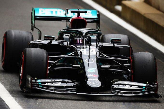 Treino Qualificatório GP 70 anos Fórmula 1