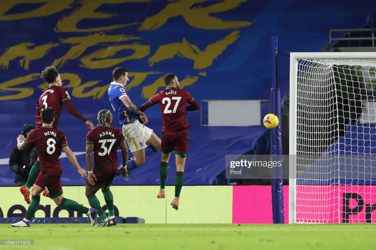 As it happened: Brighton & Hove Albion 3-3 Wolverhampton Wanderers