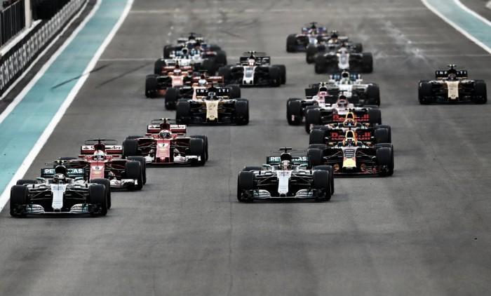 La F1 estudia cambiar la parrilla de salida