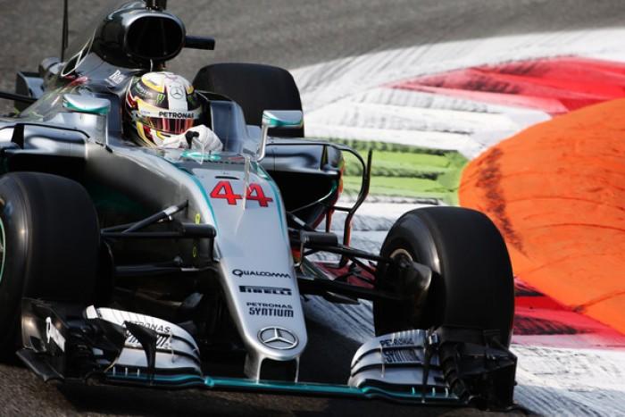 Monza, ancora Hamilton: leader anche nelle FP3