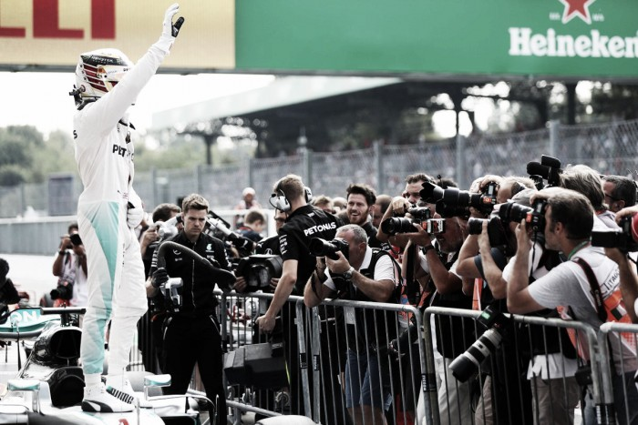 Italian GP: Hamilton storms to pole as Red Bull struggle