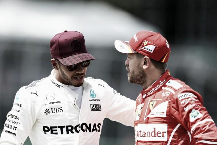 """Formula 1 - Resa dei conti Vettel-Hamilton in conferenza stampa: """"Scuse accettate"""""""