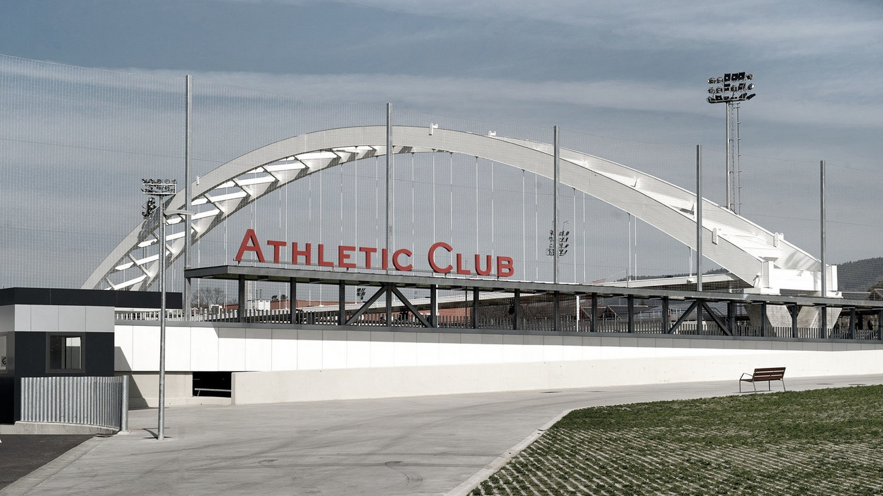 Las instalacion de entrenamiento del Athletic en Lezama. Fuente: Athletic Club