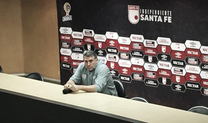"""Luis Fernando Suárez:""""Valoro la actitud del grupo, pero tenemos que aprender para lo que viene"""""""