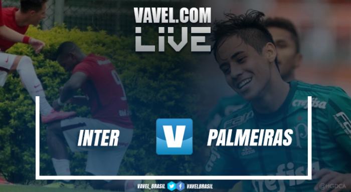 Resultado Internacional x Palmeiras pela semifinal da Copa RS de Futebol Sub-20 (2-3)
