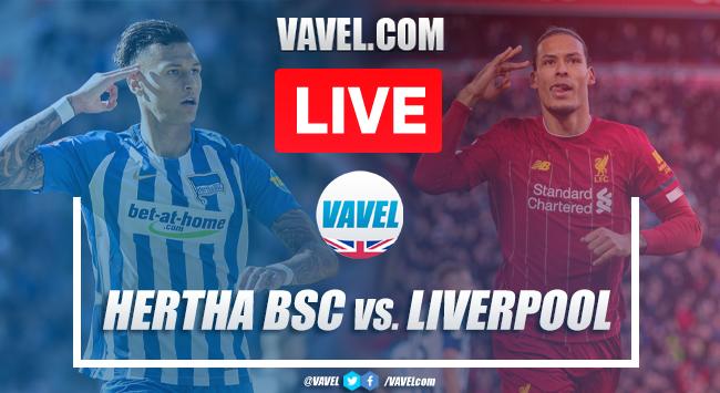 Liverpool 3-4 Hertha Berlin: As It Happened