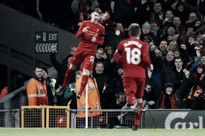 EFL Cup - Il Liverpool soffre ma supera il Leeds: Origi e baby Woodburn firmano il 2-0