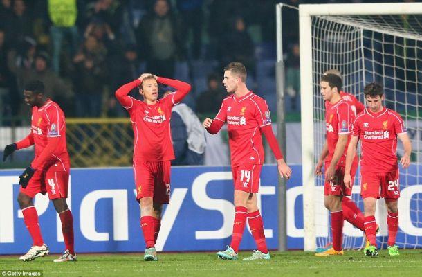 Ludogorets Razgrad 2-2 Liverpool: Five things we learned.