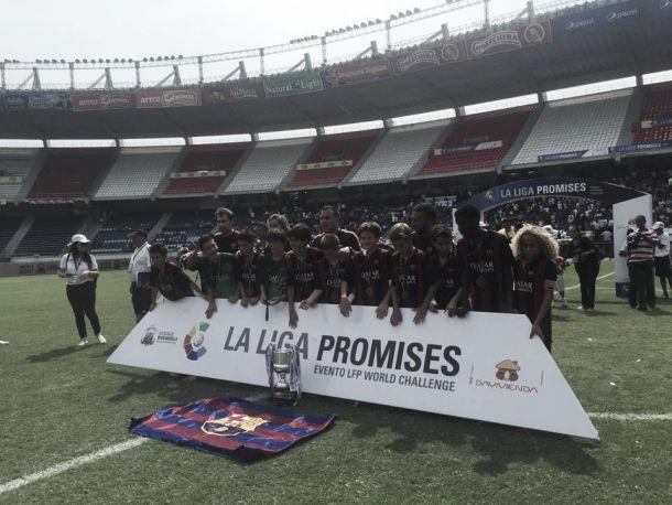 Barcelona sub-12 se corona campeón de la Liga Promises