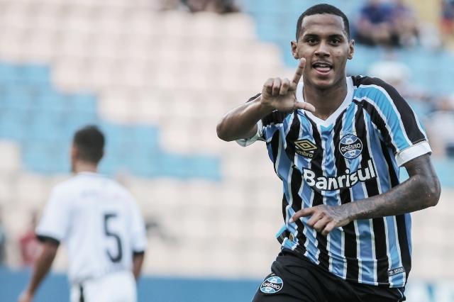 Grêmio vence EC São Bernado com autoridade e avança na Copa SP