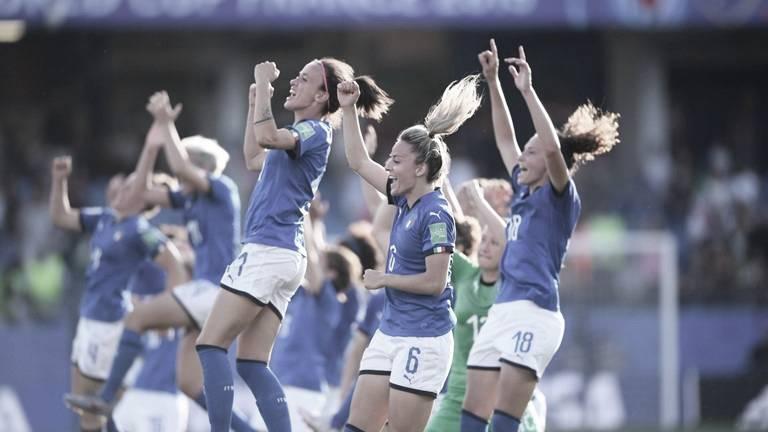 Itália derrota China e avança às quartas de final da Copa do Mundo Feminina