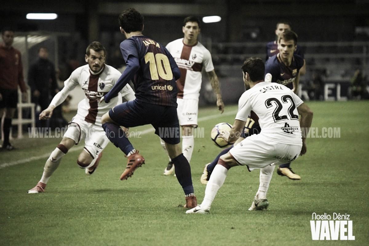 Resumen SD Huesca 2-1 FC Barcelona B en Segunda División 2018