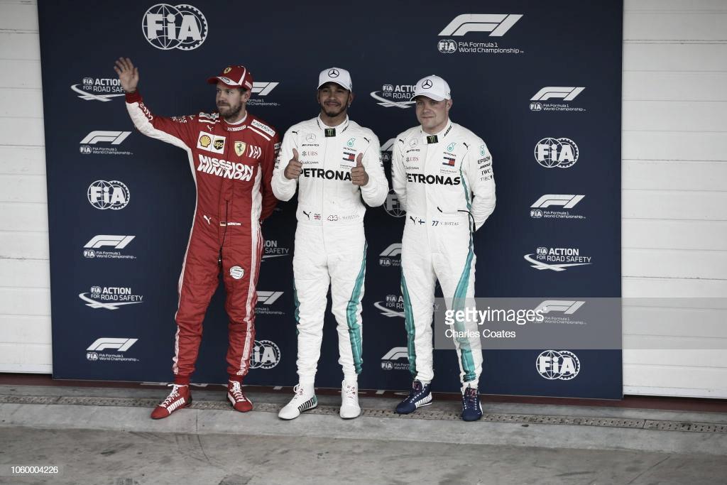 Hamilton se hizo con la pole en el Gran Premio de Brasil