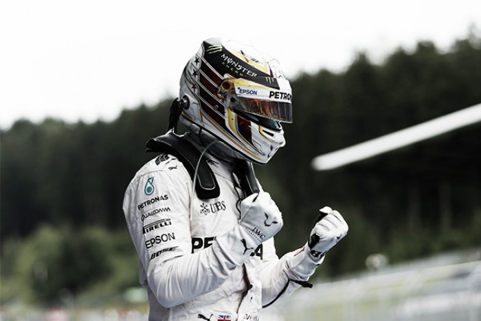 Vuelta al 2016. GP de Austria: Lewis Hamilton sale ganador de la lucha entre compañeros