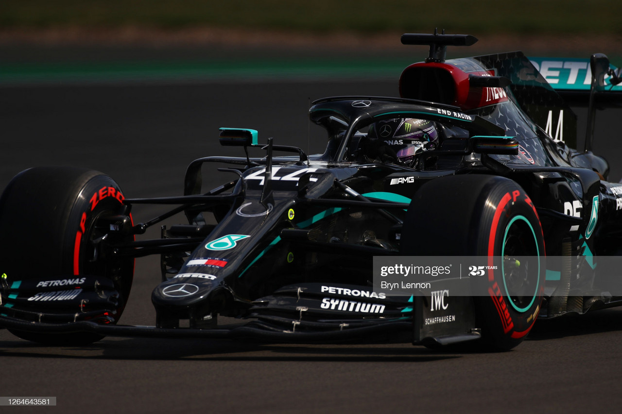 70th Anniversary GP FP3 - Mercedes take third successive 1-2 in practice