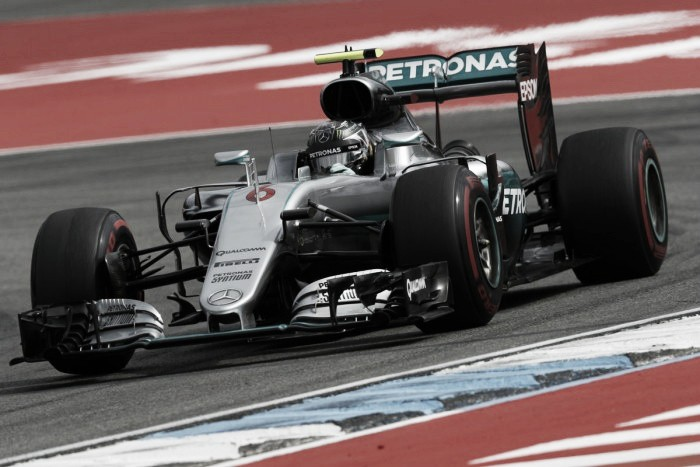 German Grand Prix: Rosberg on top as Ferrari close in