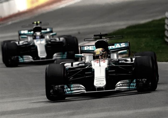 """Sono tornati quelli """"illegali"""": Hamilton e la Mercedes fanno di nuovo paura"""