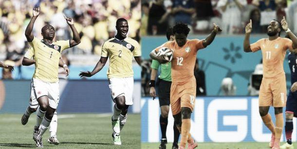 Colombie - Côte d'Ivoire : se rapprocher du but
