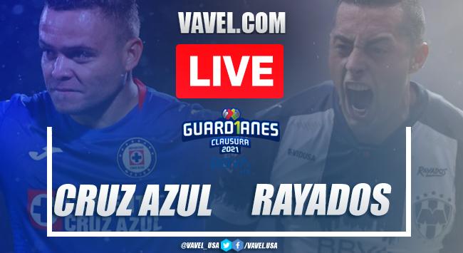 Goals and highlights: Cruz Azul 1-0 Monterrey in Liga MX Guard1anes 2021