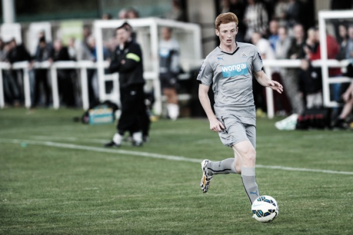 Palace interested in Newcastle youngster Liam Gibson
