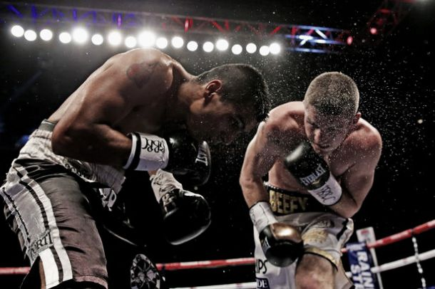 Liam Smith Drops David Romero Four Times To Claim WBO Belt