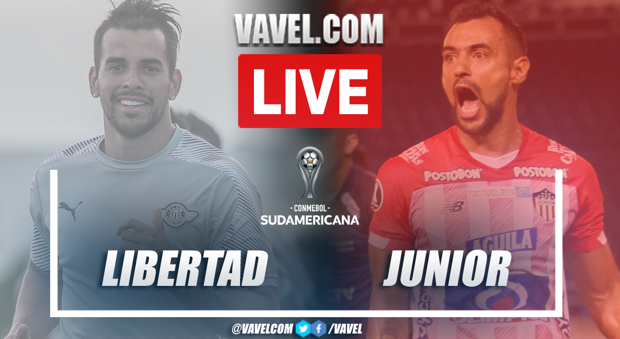 Goals and Highlights: Libertad 0-1 Junior in Copa Sudamericana 2021