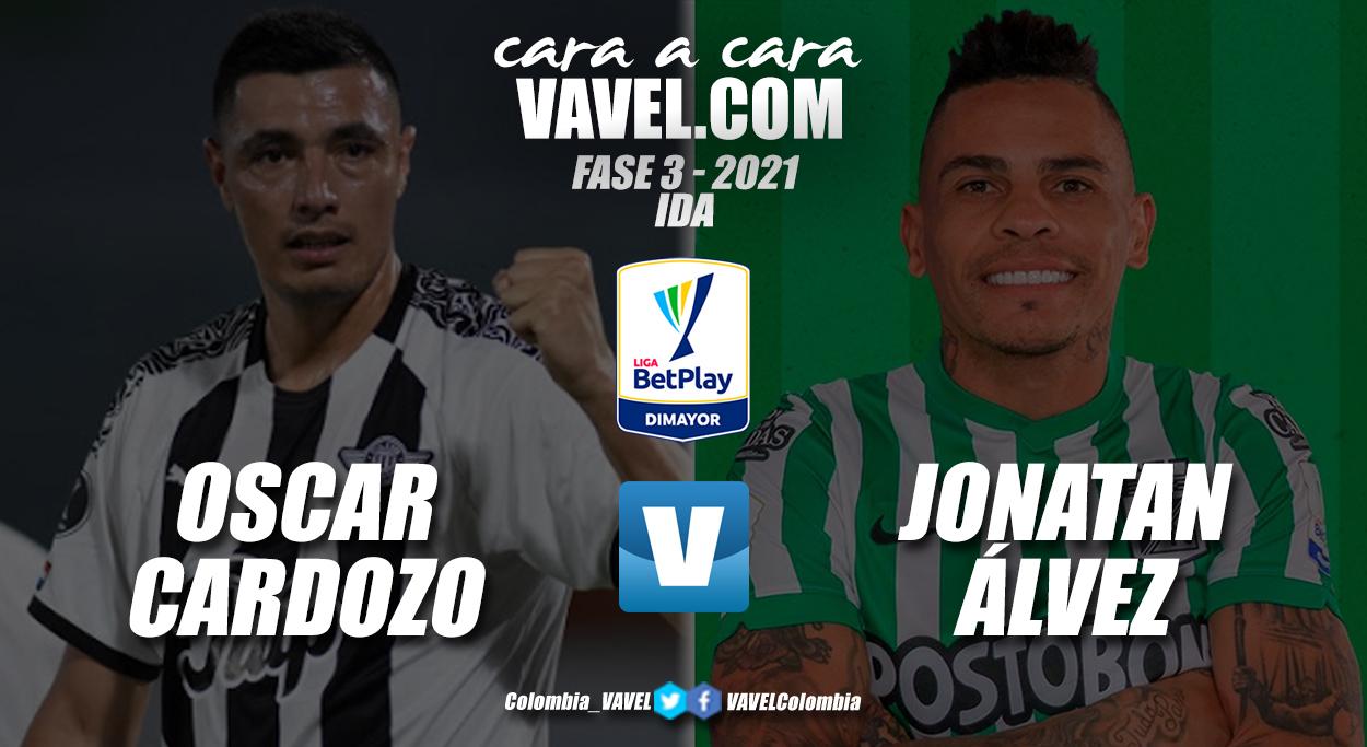 Cara a cara: Óscar Cardozo vs. Jonatan Álvez