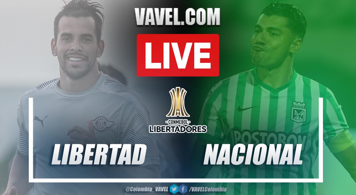 Resumen Libertad vs Nacional (1-0) en ida de fase 3 por Copa Libertadores 2021