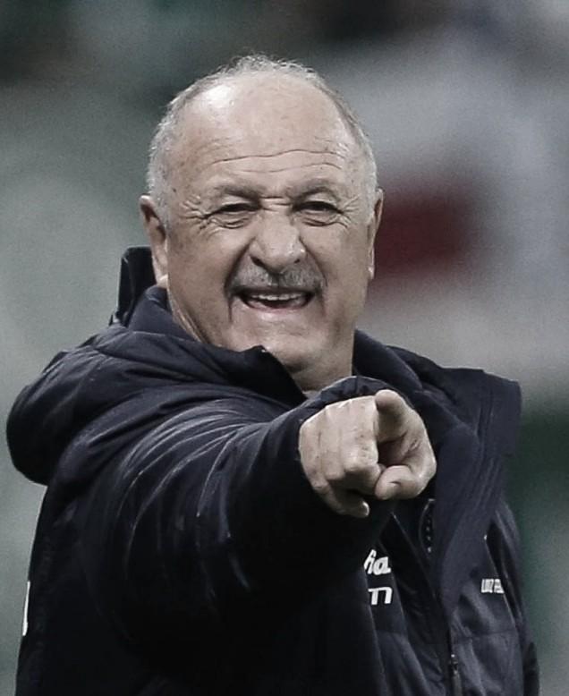 """Felipão avalia Borja: """"Ficamos contentes com o trabalho dele nos dois jogos"""""""