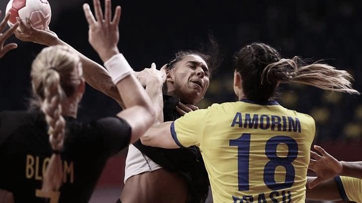 Gols e melhores momentos Brasil x Suécia no handebol feminino nas Olimpíadas de Tóquio 2020 (31-34)