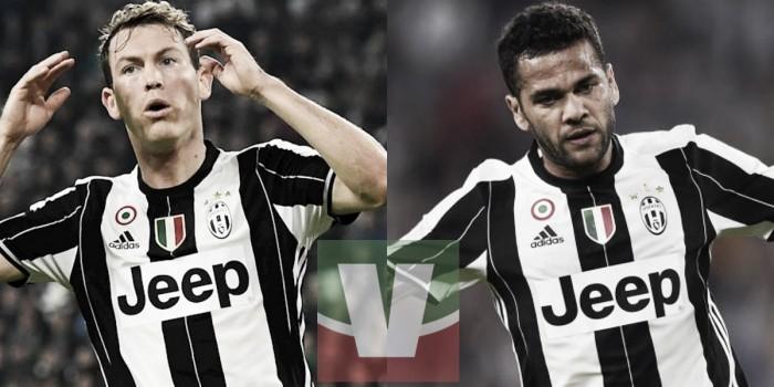 Juve, Allegri e il dilemma di fascia destra: Dani Alves o Lichtsteiner?